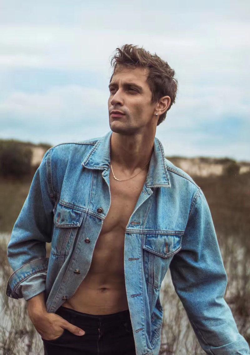 外籍男模特Joel