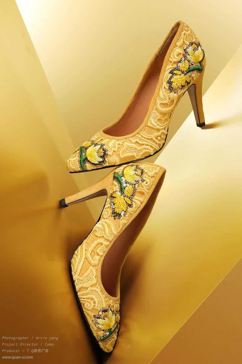 泉思鞋子拍摄作品